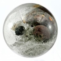 Crystals Wholesale AustraliaHealing Shape Crystal Sphere Phantom Lodolite and Chlorite
