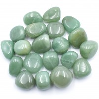 Light Green Aventurine Tumbled Stones simply crystals of the world