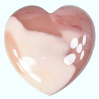 Red Mookaite Hearts K-Z crystals wholesalers