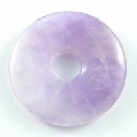 Wholesale Crystals Australia Online Crystal Jewellery Pendant Donut Amethyst chevron