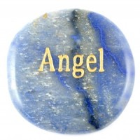Crystals Wholesale Sydney Polished Crystal Word Stone Angel  074 (3)