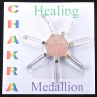 Crystals Wholesale Australia Engaved Stone Set Ahakra Healing Medallion