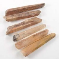 Buy Wholesale Crystals Natural Crystal Laser Quartz with Hematite