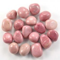 Wholesale Crystals Polished Tumbled Crystal Pink Petrified Wood
