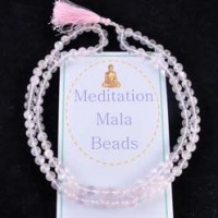 Crystals Wholesale Crystal Meditation Mala Beads Rose Quartz