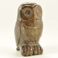 Buy Wholesale Crystals Crystal Carving Owl Bronzite