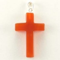 Wholesale Crystals Online Crystal Pendant Cross Carnelian