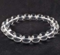 Crystals and Stones wholesale Australia Crystal Bead Bracelet Clear Quartz