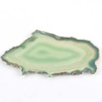 Crystal Wholesalers Crystal Agate Slice Green