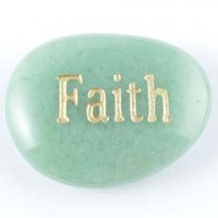 Wholesale Stones Australia Crystal Word Stone Faith Aventurine Green