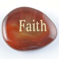 Wholesale CRystals Gold Coast Crystal Word Stone Carnelian Faith