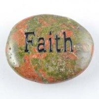 Natural Crystal Wholesale Crystal Word Stone faith Unakite