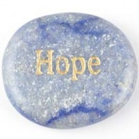 Wholesale crystals Online wordstone Hope Blue Aventurine