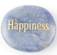 Wholesale Crystals and stones Crystal wordstone Happiness Blue Aventurine