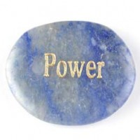 crystals wholesale wordstone power aventurine blue