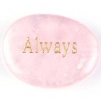 buy wholesale crystals wordstones always rose quartz