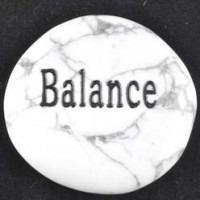 tumbled stone wholesale wordstones balance howlite white