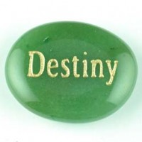wordstones destiny aventurine green