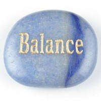 wholesale rocks and crystals wordstone balance aventurine blue