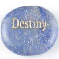 wordstones destiny aventurine blue