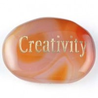 wordstones creativity carnelian